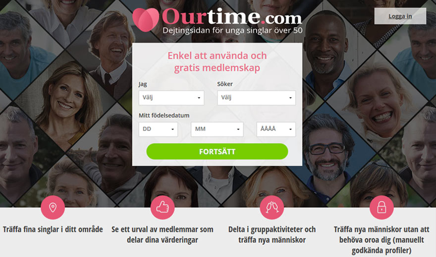 Ourtime - dejting 50 plus